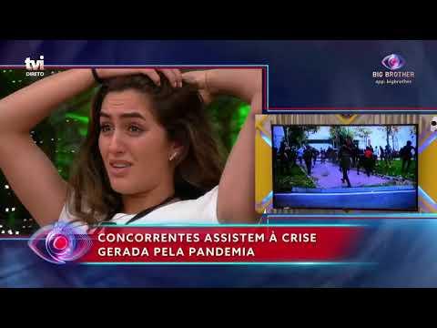 Finalistas São Confrontados Com A Situação Atual Da COVID-19 | Big Brother - A Revolução