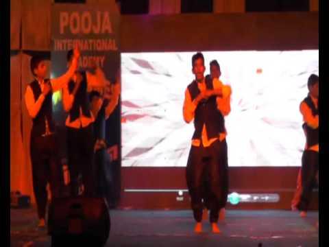 Pooja International Academy , Fiesta - 2015 , Song - Dekho Aaya Bappa Morya , ABCD 2