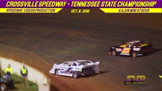 Crossville Speedway KSMA Mini Stock Feature