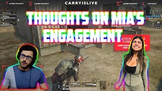 thoughts on mia's engagement | carryislive | pubg mobile highlights