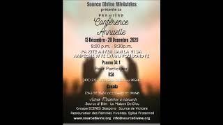 Source Divine Ministries/Groupe ECERES Diaspora 16 Décembre 2020.