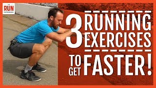 Top 10 Exercises - 3 Running Exercises to Get Faster!