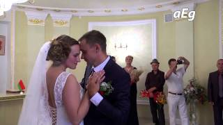 One of the many beautiful wedding stories.. of Kricev, 2014. Video cameraman Prokudin