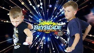 Бейблэйд Бёрст за ЭКСКАЛИУС X4 ЭПИЧЕСКАЯ БИТВА на все волчки Beyblade Burst battle games