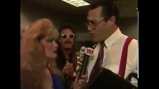 Rhonda Shear Wrestlemania Mouth Of the South Million Dollar Man IRS