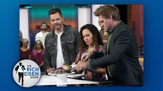 Joel McHale at HOW MANY Calories on the Set of Crime Scene Kitchen???  The Rich Eisen Show