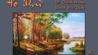 Hồ Như (Nguyễn Minh Châu, lời Quỳnh Hương) - Hoàng Hoa (Voice Guide)