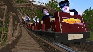 (VIRTUAL REALITY) THE MOST REALISTIC ROLLER COASTER GAME EVER!!..... | NoLimits 2