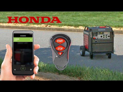 Honda EU7000is Generator Wireless Remote Starter Kit