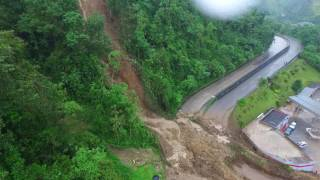 Aerial Footage Shows Aftermath of the Colombia Mudslides
