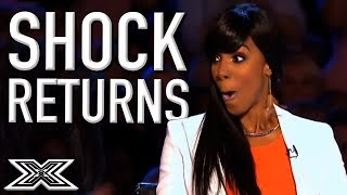 SHOCKING Contestants RETURN To The X Factor Auditions | X Factor Global