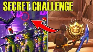 SECRET FREE Battle Pass Tier Challenge (Week 4) Fortnite Blockbuster #4