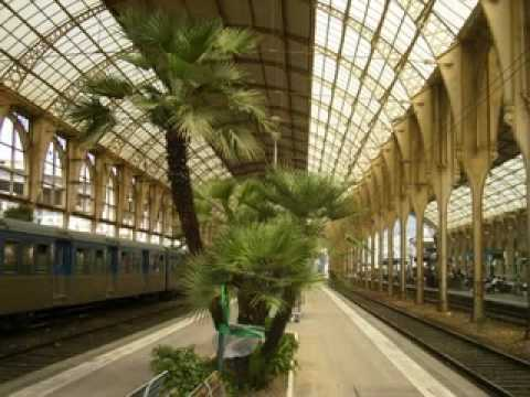 Nice (france ) Railway Station and Trains