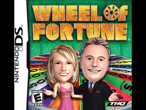 Nintendo DS Wheel of Fortune ORIGINAL RUN Game #1