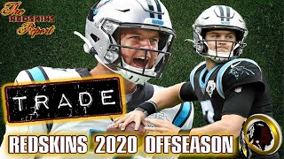 The Redskins Report  |  Skins TRADE For Backup QB Kyle Allen From Panthers  |  I'm NERVOUS!!!!😬😨