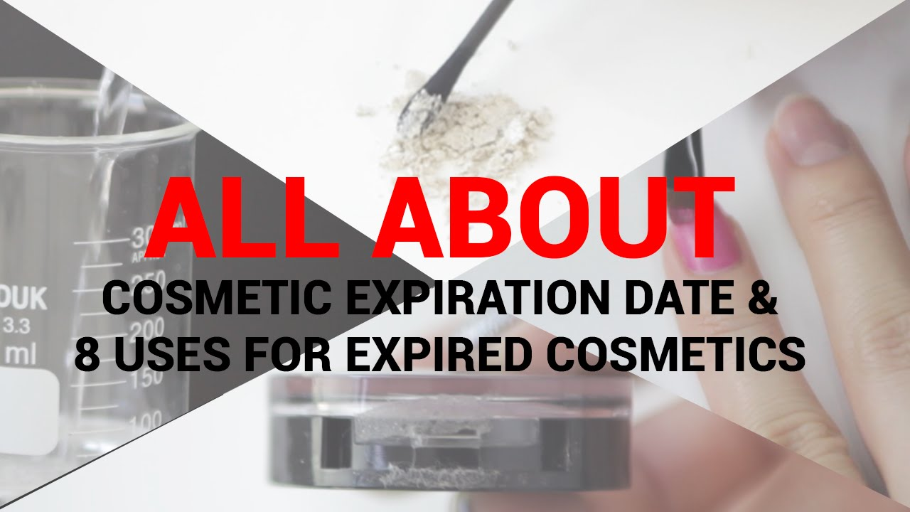 All about Cosmetic Expiration Date & 8 Uses for Expired Cosmetics |  Wishtrend