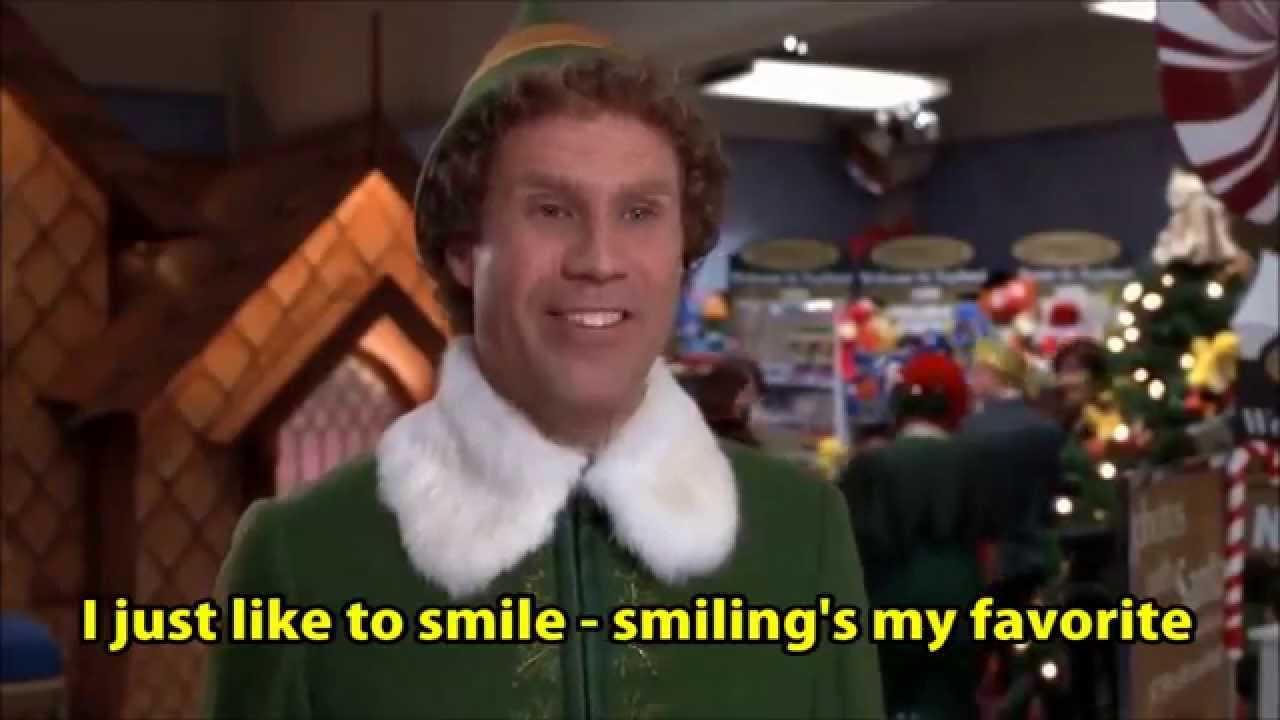 Elf Smilings My Favorite Youtube