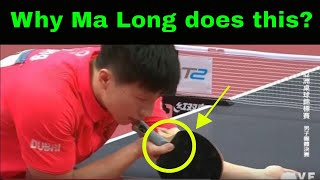 Ma Long Forehand and Backhand Technique