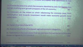 OCR F585 Global Economy - 4 Potential Exam Papers