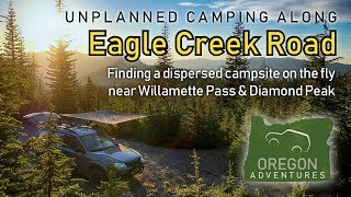 Finding Dispersed Camping iฑ the Oregon Cascades