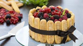 Berry Charlotte Cake Recipe
