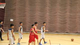 鄭植之vs邱金元basketball competion B