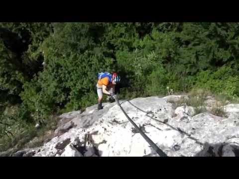Klettersteig Oberösterreich : Klettersteigpark beisteinmauer ternberg trattenbach oÖ youtube
