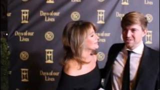 Chandler Massey & Deidre Hall Reunion on the Days 50 Red Carpet (Nov 2015)