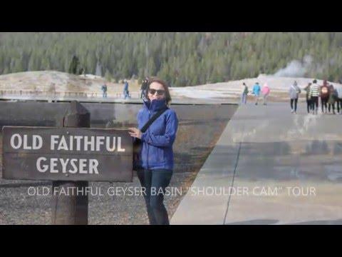 Old Faithful Geyser - Road Trip USA - Yellowstone NP, Wyoming - OffOnTour - 2015