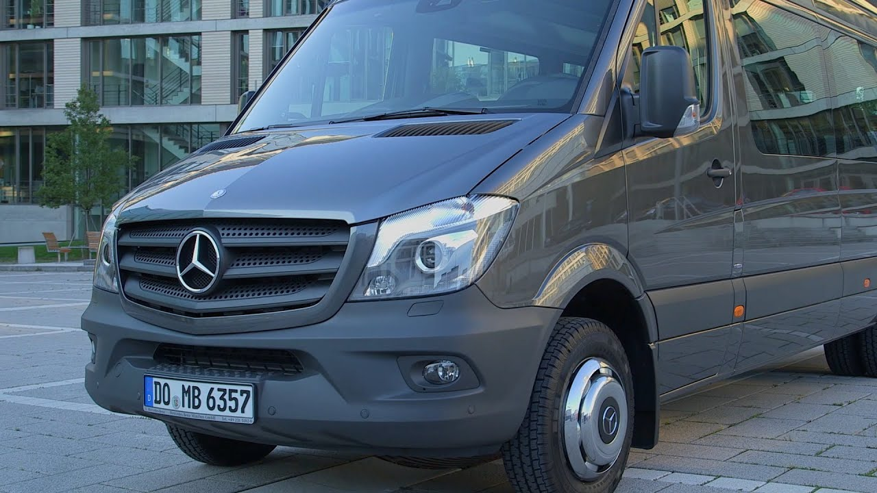 2014 Mercedes Sprinter Transfer 45 - DESIGN - Exterior / Interior ...