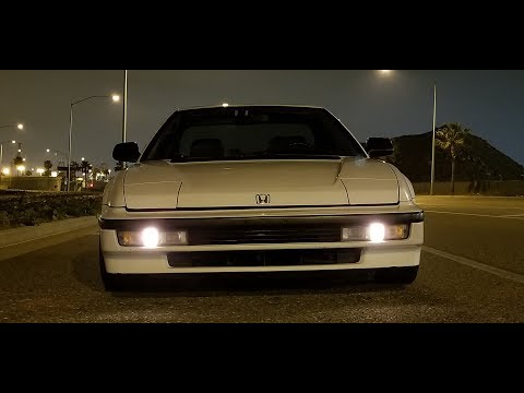 3rd gen HONDA Prelude Si 4WS (1990) on bring a trailer NOW! custom exhaust sound