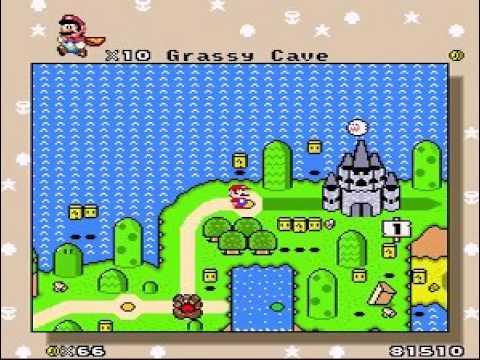 Ultra Mario World The 12 Magic Stars Demo 1 1