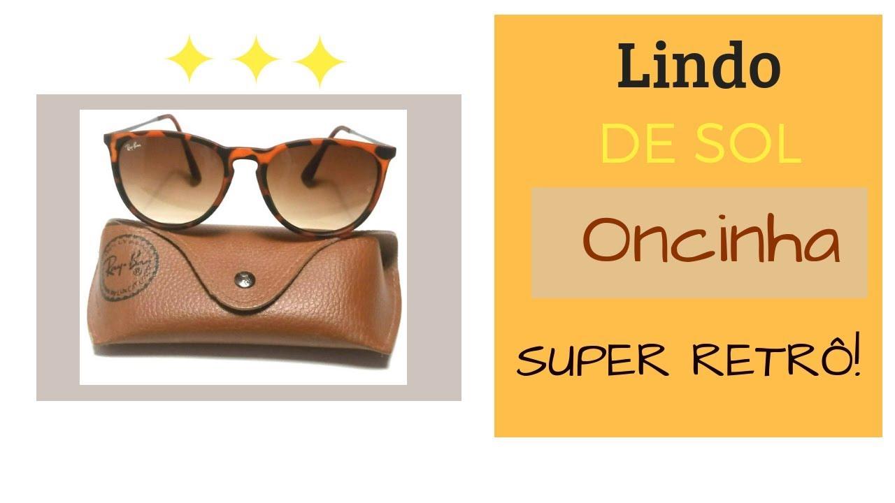 d9e7114c2fac0 Óculos de Sol Mercado Livre Lente Degradê Redondo Em Acetato - YouTube