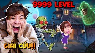 Anh Tóc Xanh Giải Cứu Mei Khoai Tây Thoát Khỏi Căn Nhà Ma Đầy Zombie!