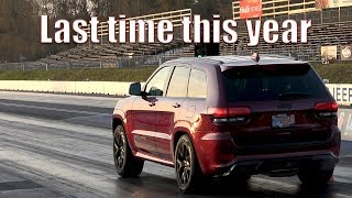 Best 1/4 mile runs in our 2018 Jeep Grand Cherokee Trackhawk yet!
