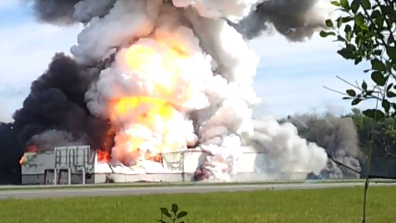 Canada Fireworks Factory Explosion
