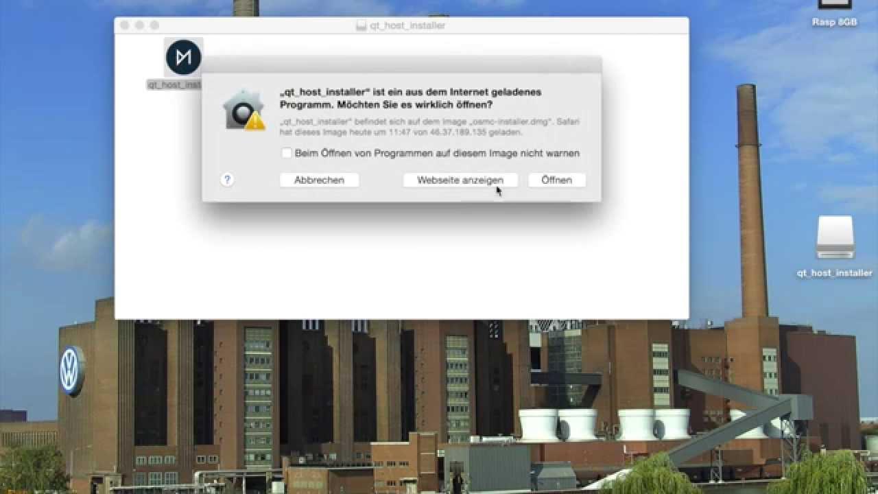 Raspberry Pi Media Center - Teil 1 Installation OSMC - YouTube