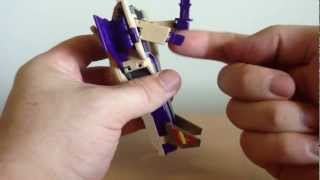 Transformers G1 Triple Changer - Blitzwing Review !