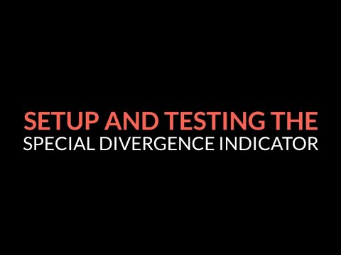 Setup and Testing the ZoneTraderPro Special Divergence Trade