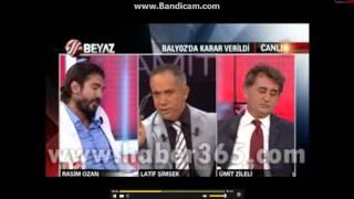 Beyaz TV'ye canlı yayında silahlı saldırı