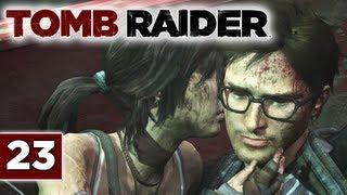 Tomb Raider (2013 Reboot) Walkthrough - Part 23: Find & Rescue Alex | The Endurance Ship & Rope Ascender Let