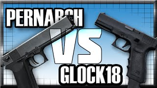 Contract Wars: Glock 18 VS Pernach (Review)