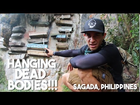 SEARCHING FOR FILIPINO MUMMIES - The Hanging Coffins of Sagada (Philippines)