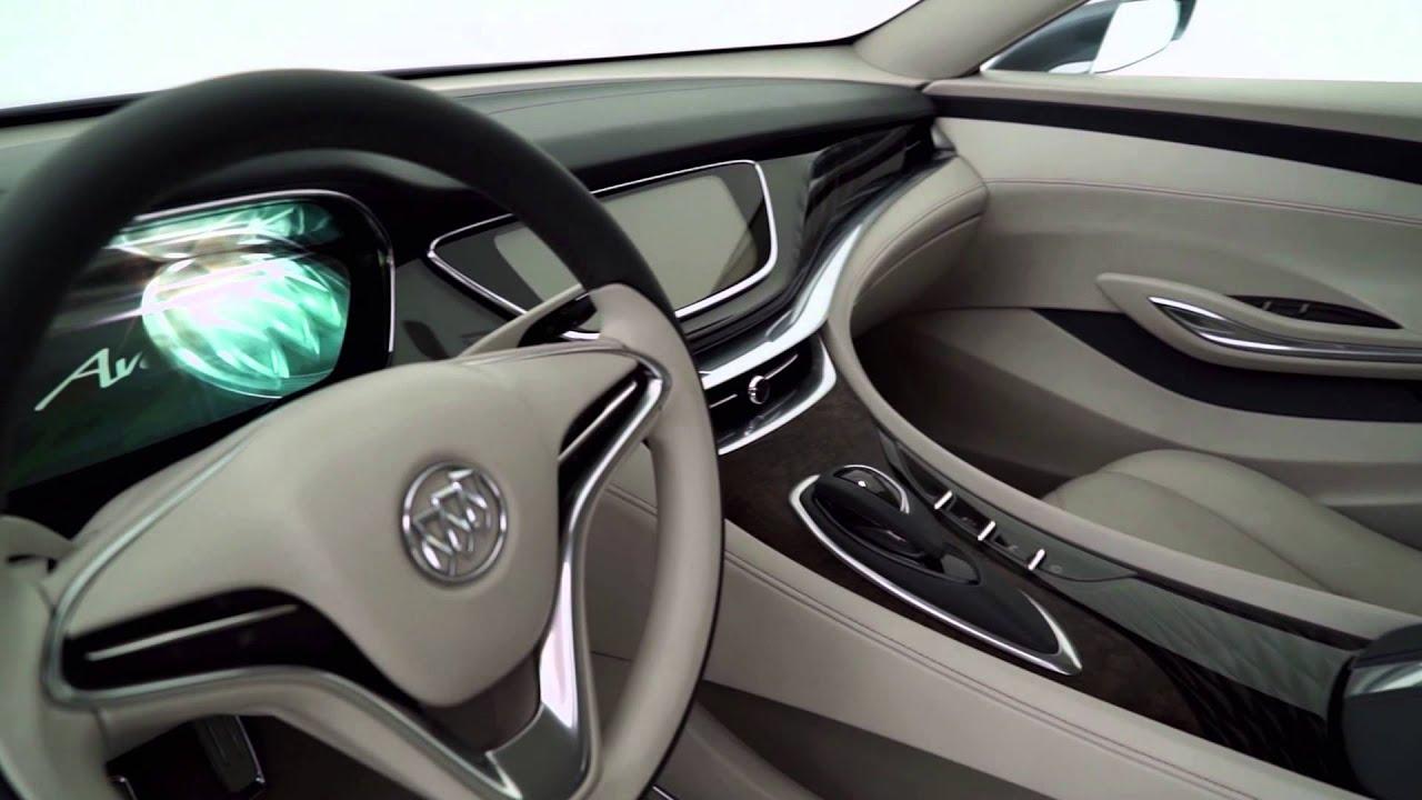 2016 Buick Avenir Concept Interior Design Youtube