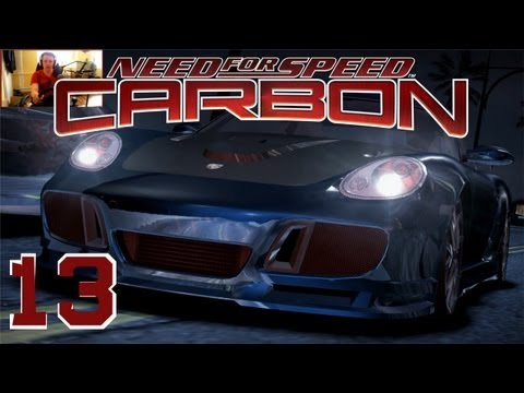 NFS Carbon #013 - Porsche Cayman S [Lenkrad+Facecam/Full HD]