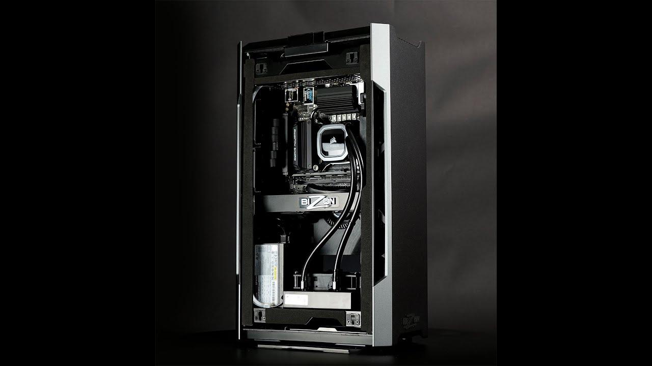 Bizon X2000 – AMD RYZEN Compact Workstation PC – Up to 16 Cores