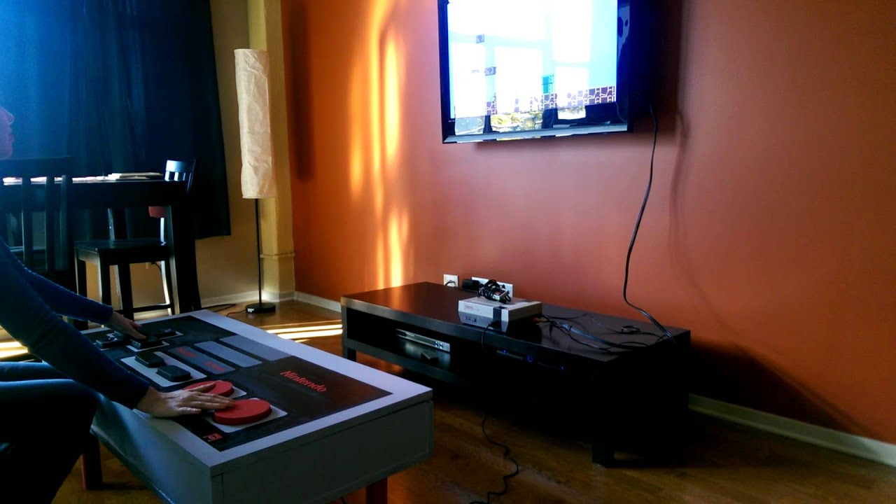 NES Coffee Table Controller 1