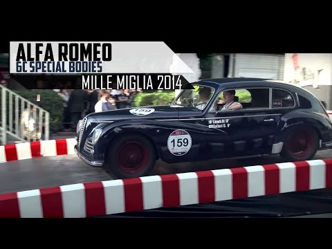 ALFA ROMEO 6C - SPECIAL BODIES - Engine sounds | SCC TV
