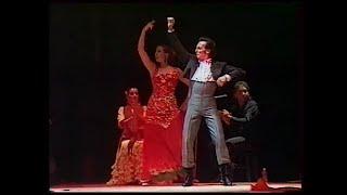 Один из лучших в мире театров фламенко Томаса де Мадрид Испания в Томске. 2000 год