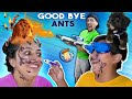 I AM THE ANT BULLY???  + Upside Down Marker Mustache Challenge (FV Family Airzooka Vlog)